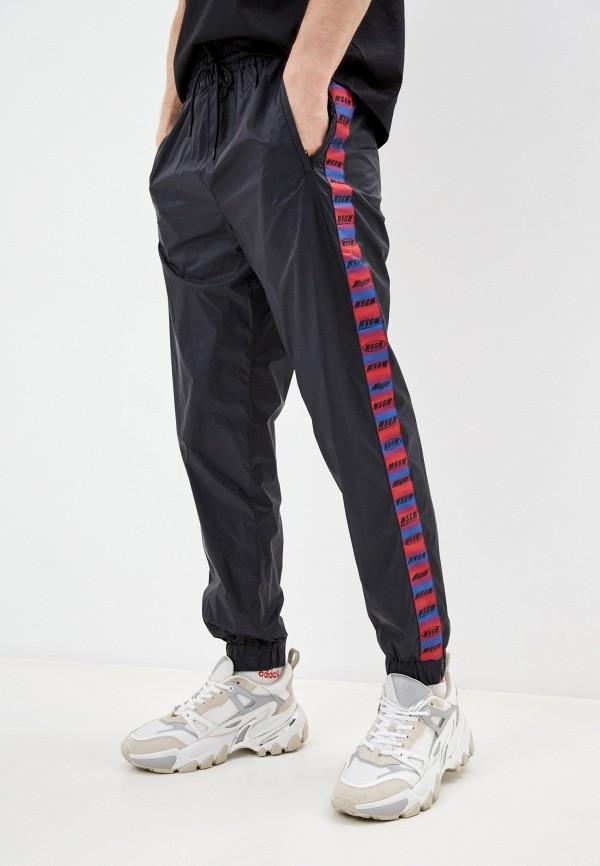мужские спортивные брюки msgm, черные