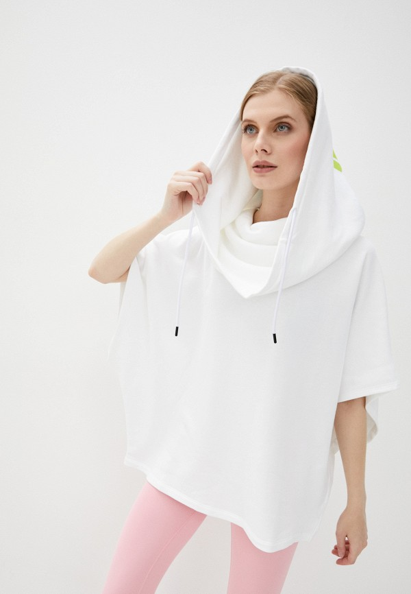 женские худи msgm, белые