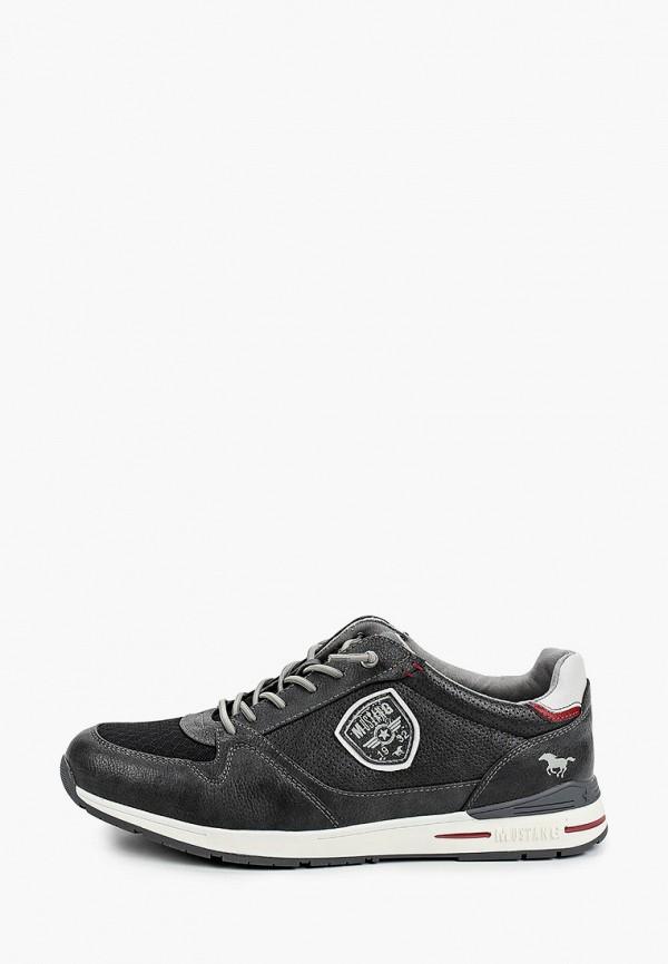 мужские кроссовки mustang, черные