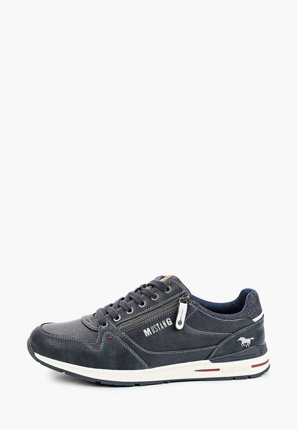 мужские кроссовки mustang, синие