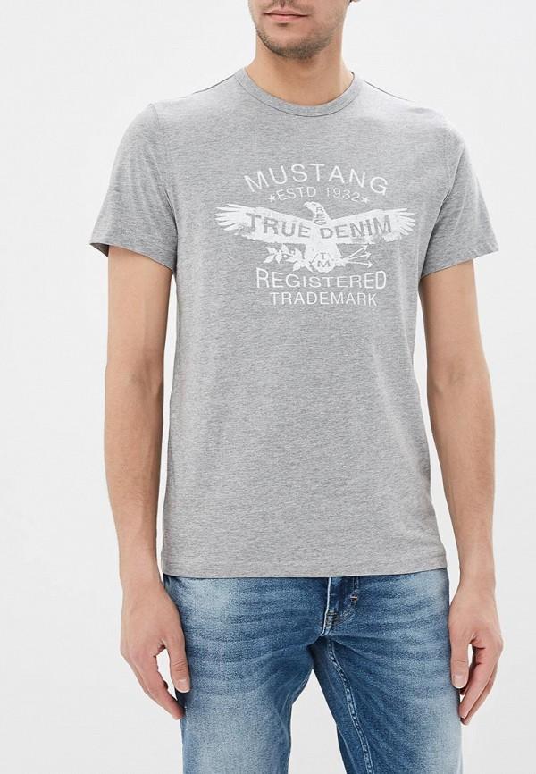 Футболка Mustang Mustang MU454EMABJV8 футболка mustang mustang mu454emxqo51