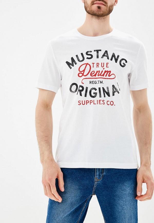 Футболка Mustang Mustang MU454EMABJY8 футболка mustang 6755 1603 649