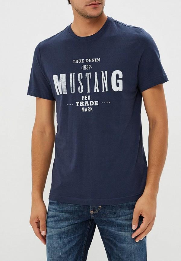 Футболка Mustang Mustang MU454EMCJRX0 футболка mustang 1005532 10972