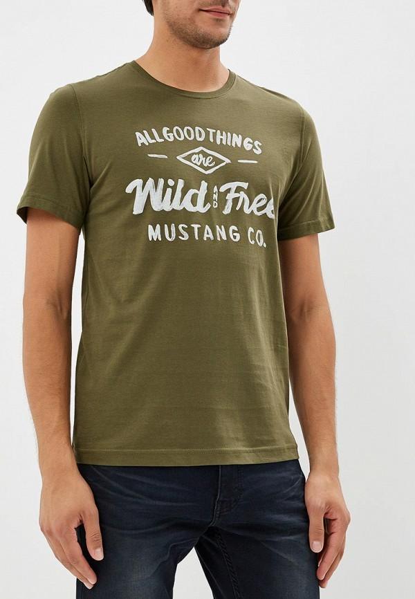 Футболка Mustang Mustang MU454EMCJRX5 футболка mustang mustang mu454empml60