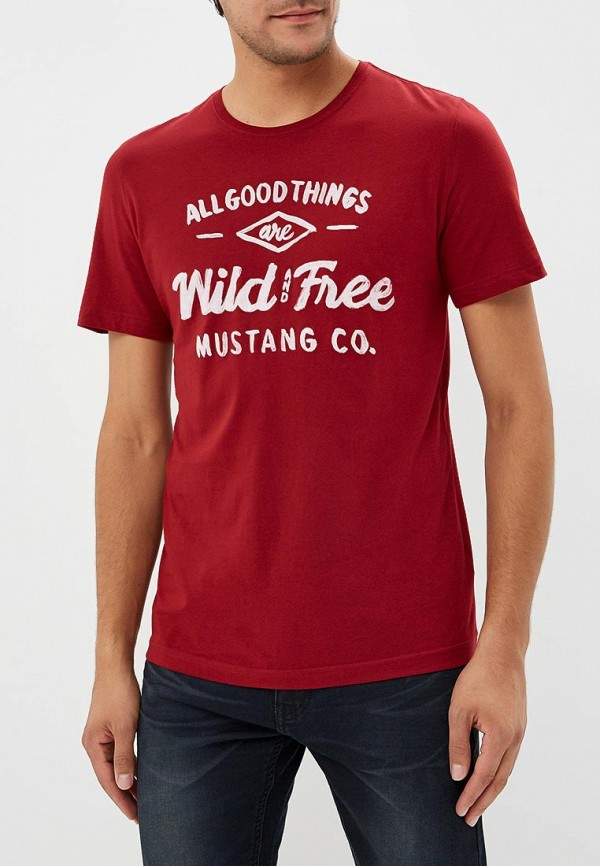 Футболка Mustang Mustang MU454EMCJRX6 футболка mustang 1005532 10972