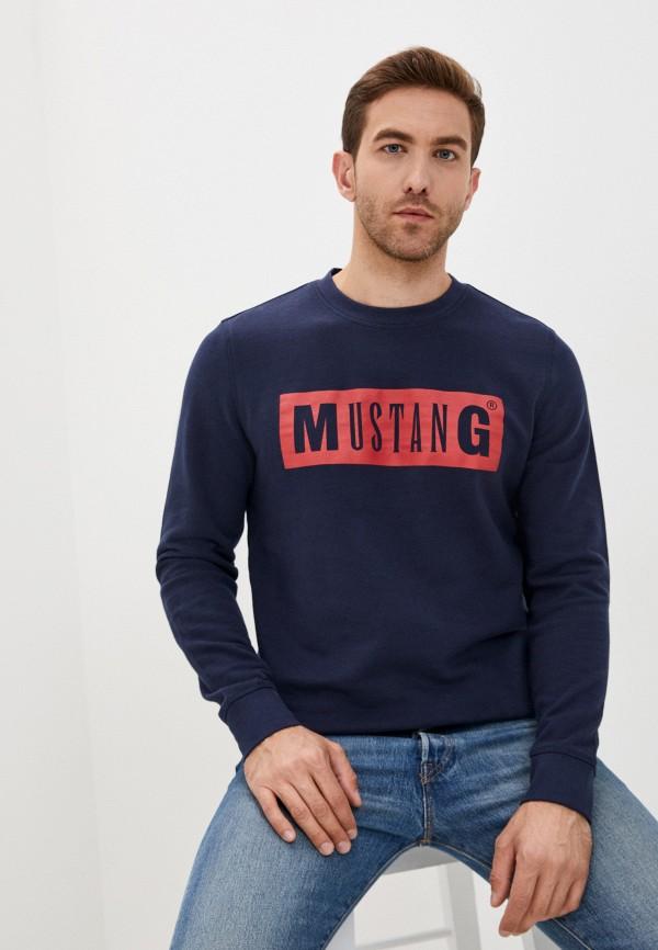 мужской свитшот mustang, синий
