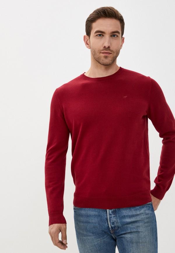 мужской джемпер mustang, красный
