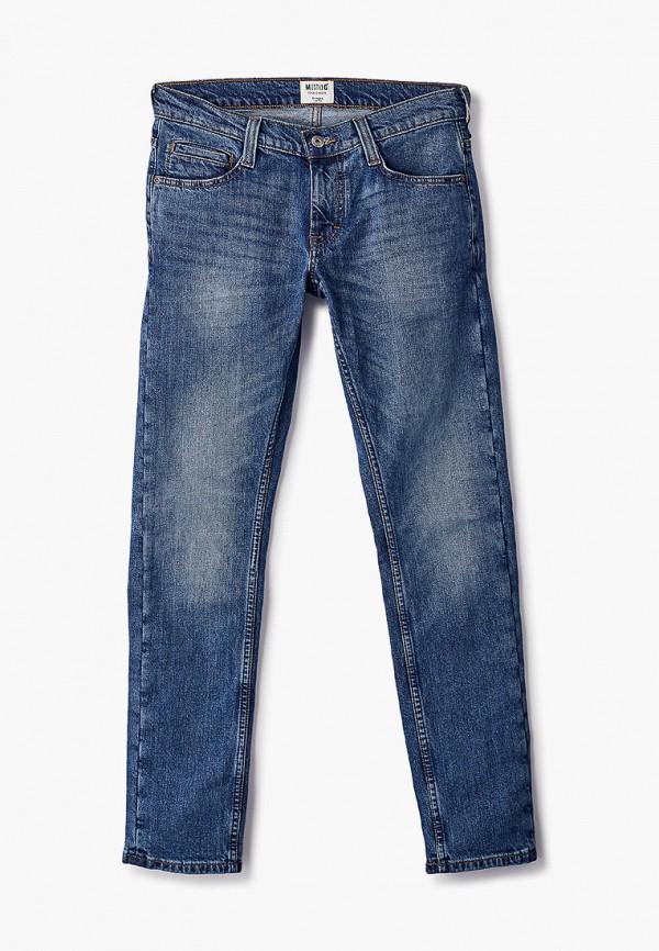 мужские прямые джинсы mustang, синие