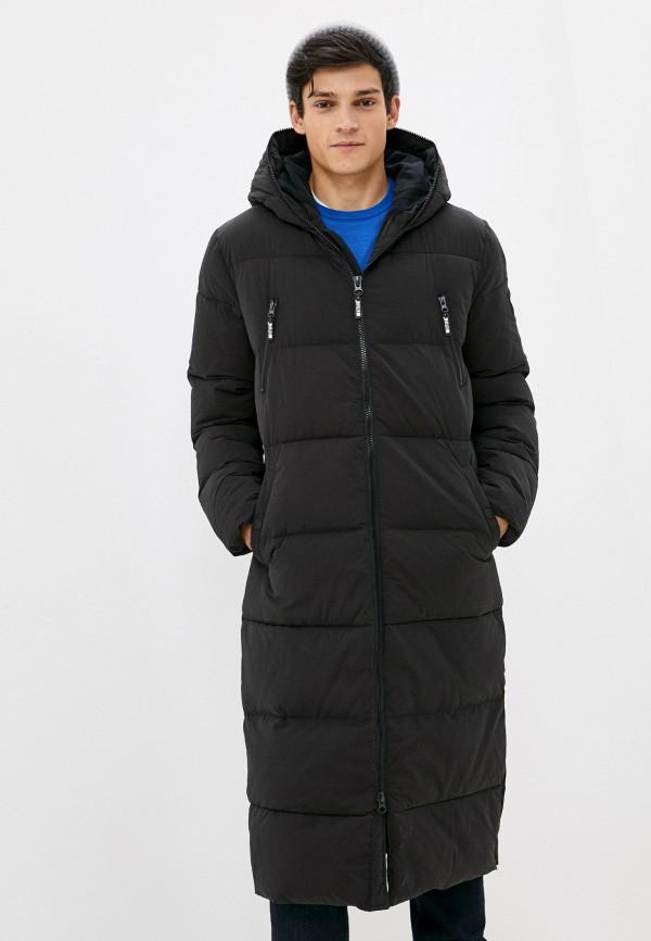 мужская куртка mustang, черная