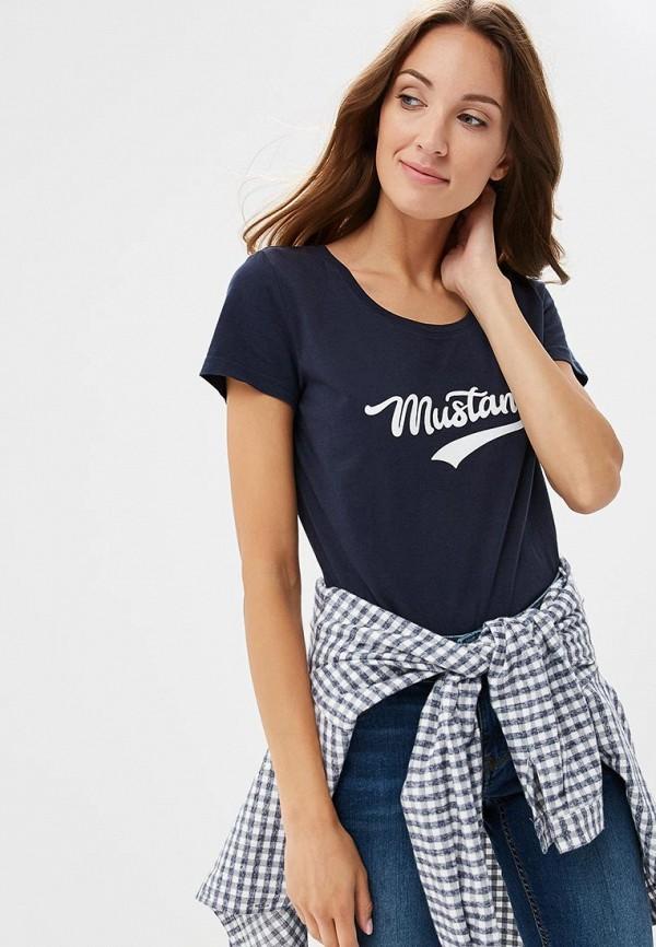 Футболка Mustang Mustang MU454EWCJSH1 футболка mustang 1005532 10972