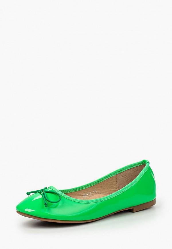 Купить Балетки My&My, my005awihr95, зеленый, Весна-лето 2016