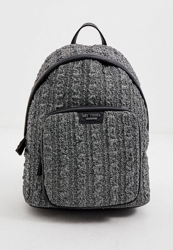женский рюкзак twinset milano, серый