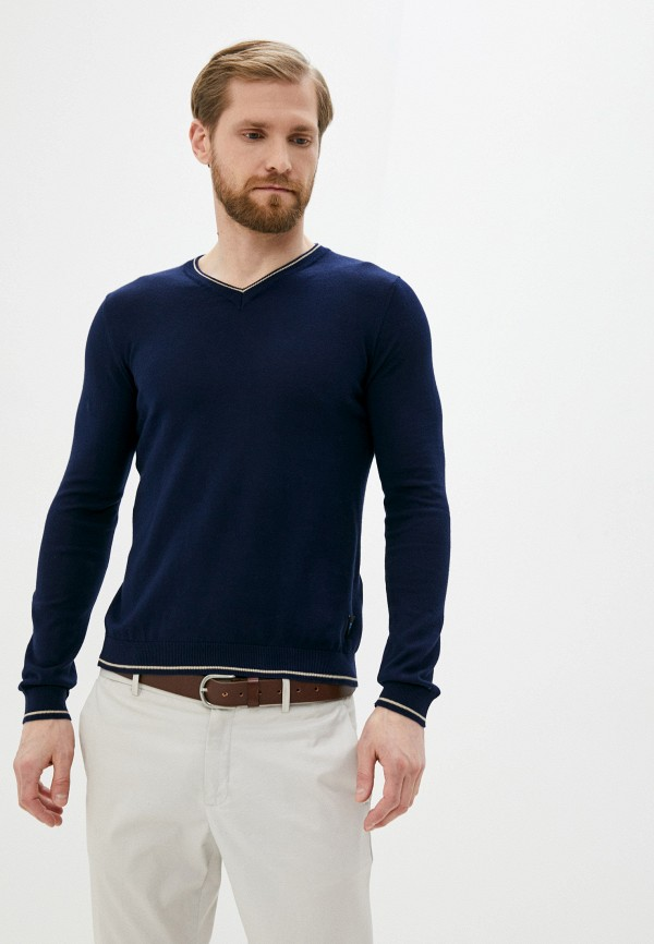 мужской пуловер twinset milano, синий