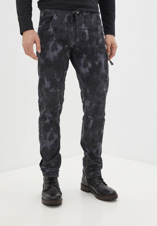 мужские зауженные брюки mz72, серые