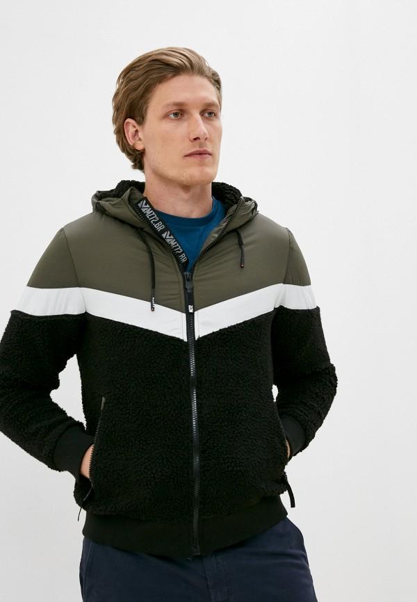мужская куртка mz72, черная