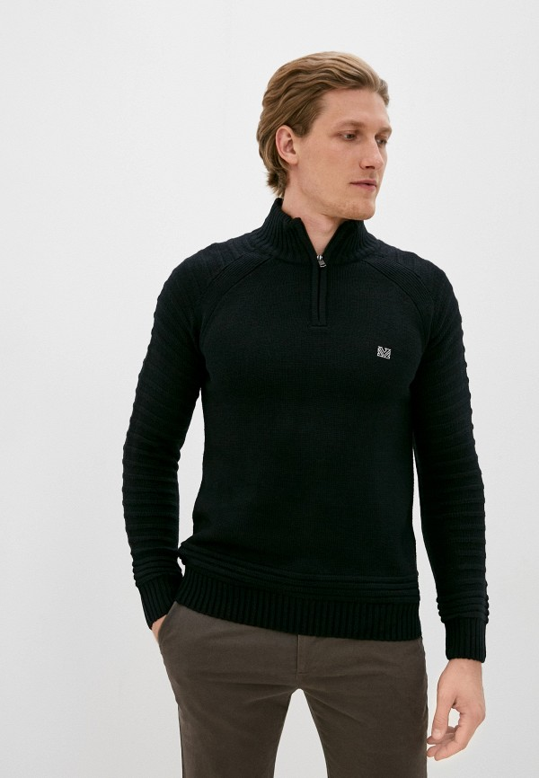мужской свитер mz72, черный