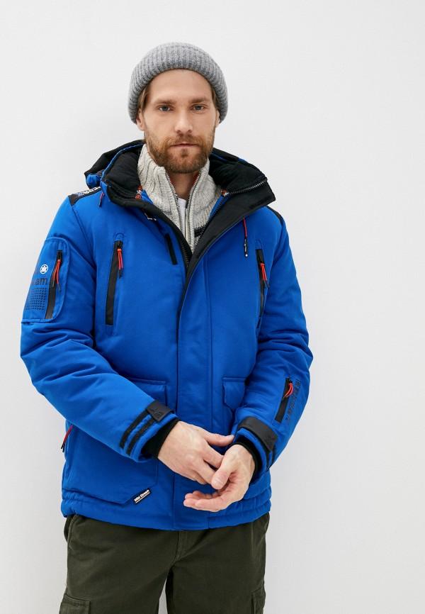 мужская куртка mz72, синяя