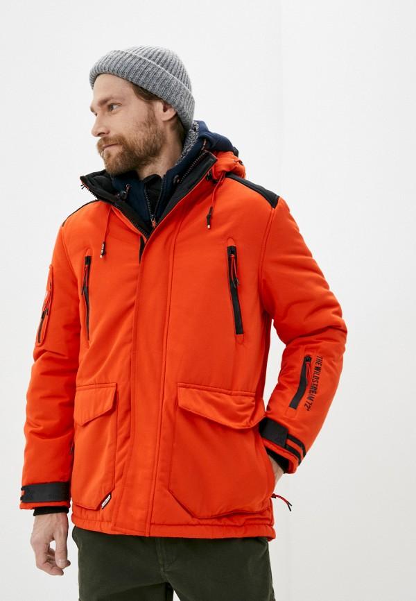 мужская куртка mz72, оранжевая