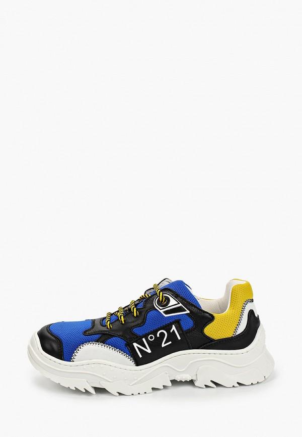 кроссовки n21 для мальчика, разноцветные