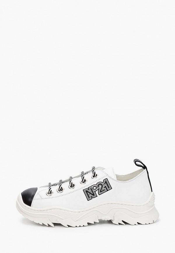 кроссовки n21 малыши, белые