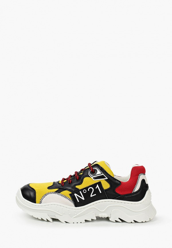 кроссовки n21 малыши, желтые