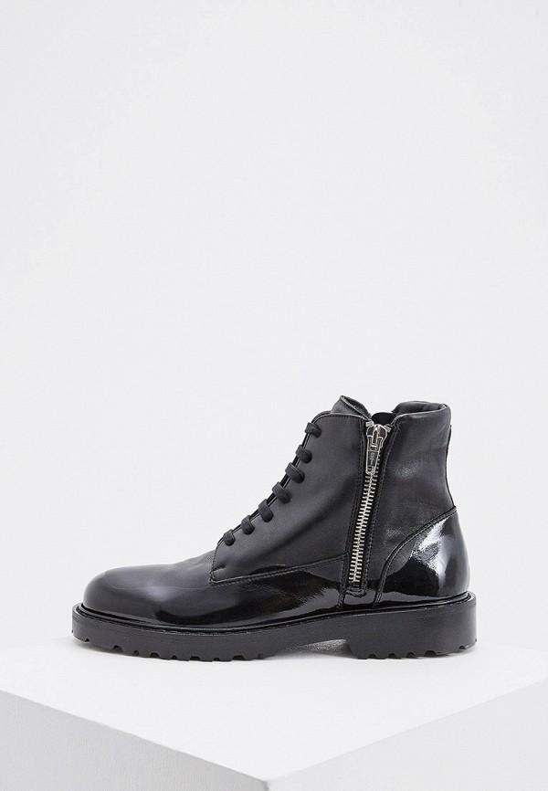 мужские ботинки n21, черные