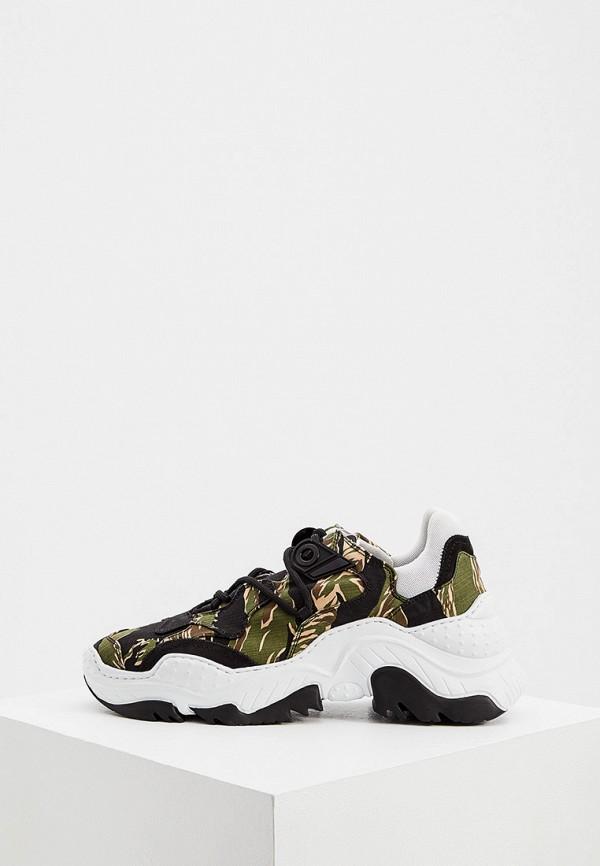 мужские кроссовки n21, зеленые