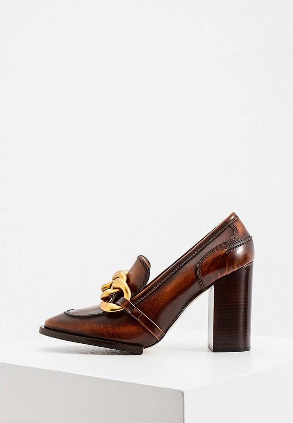женские туфли n21, коричневые