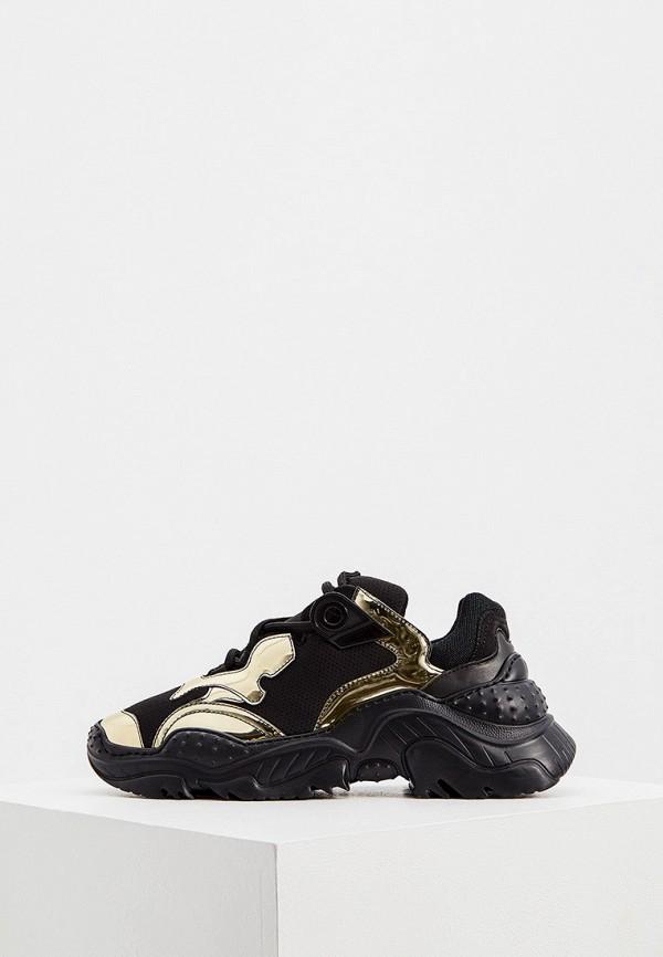 женские кроссовки n21, черные