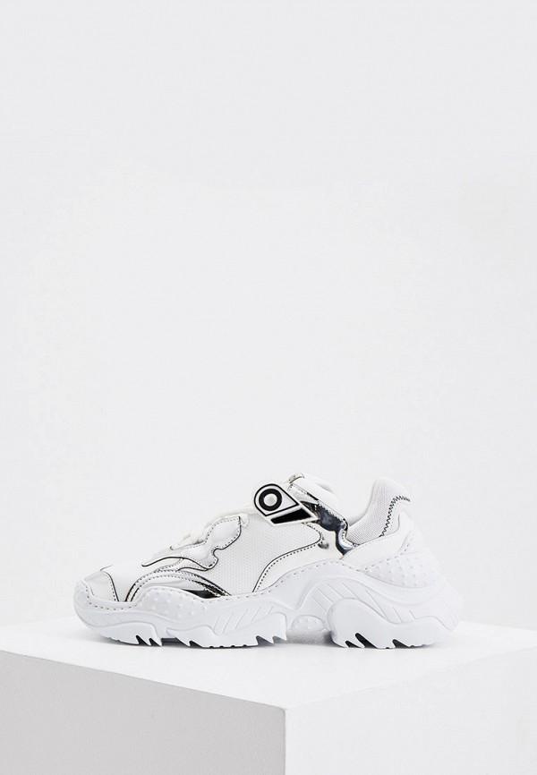 женские кроссовки n21, белые