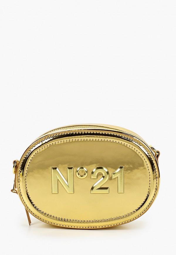 сумка n21 для девочки, золотая