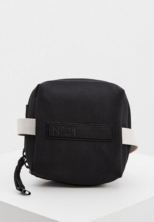 мужская поясные сумка n21, черная