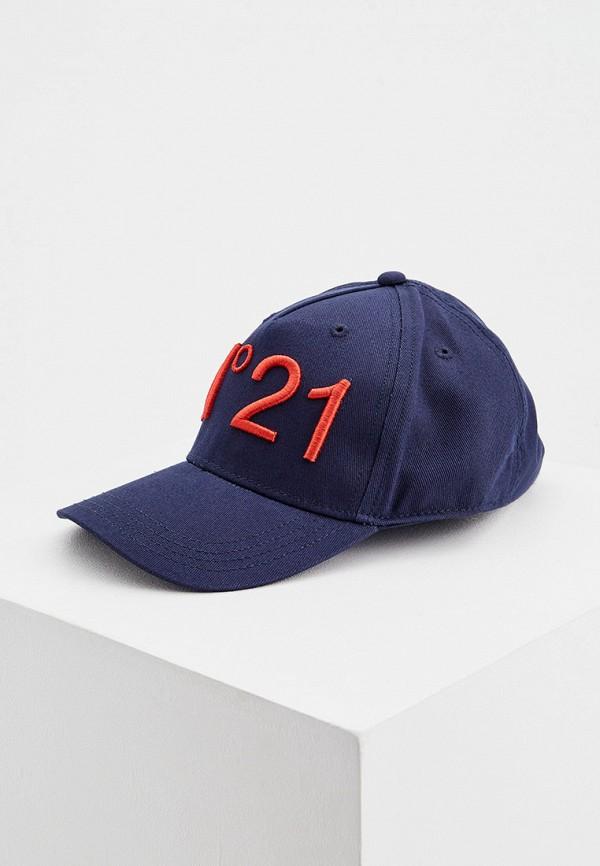 бейсболка n21 для мальчика, синяя