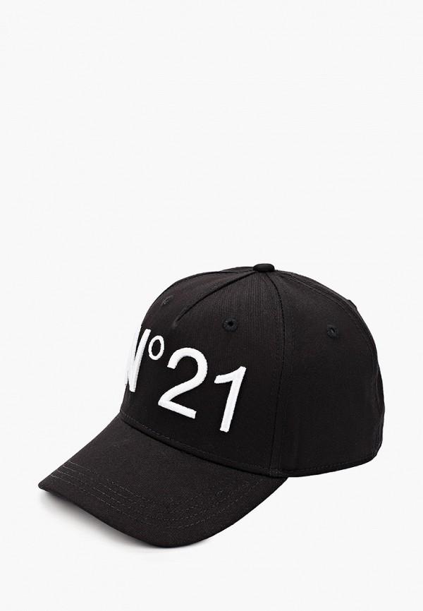 бейсболка n21 малыши, черная