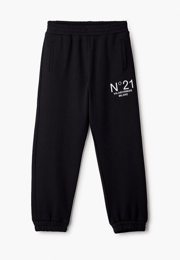 спортивные брюки n21 для мальчика, черные
