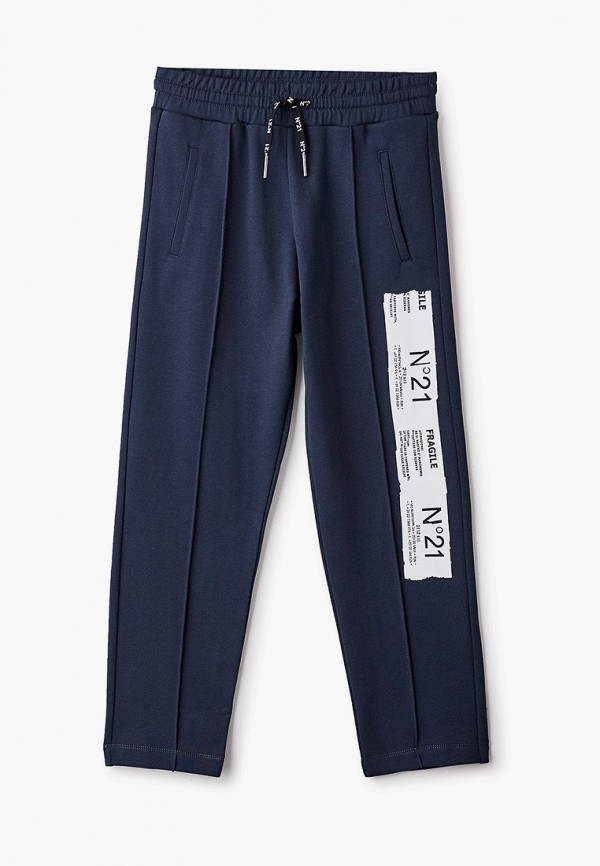 спортивные брюки n21 для мальчика, синие