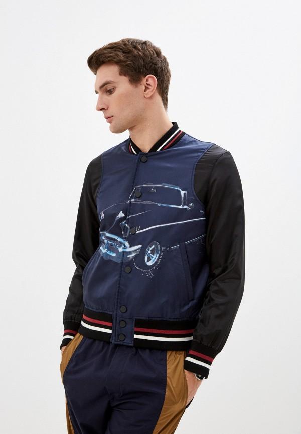 мужская куртка n21, синяя