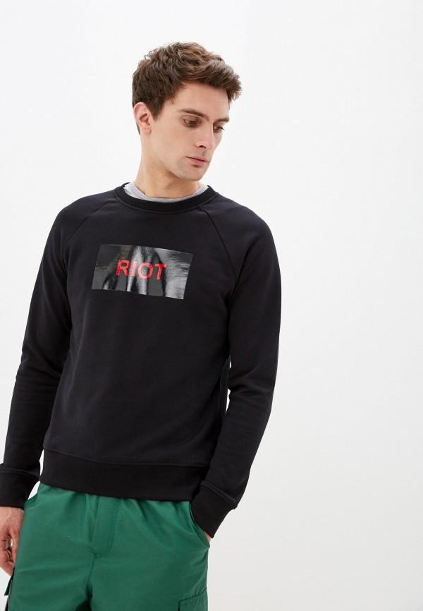 мужской свитшот n21, черный