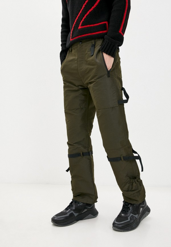 мужские прямые брюки n21, хаки