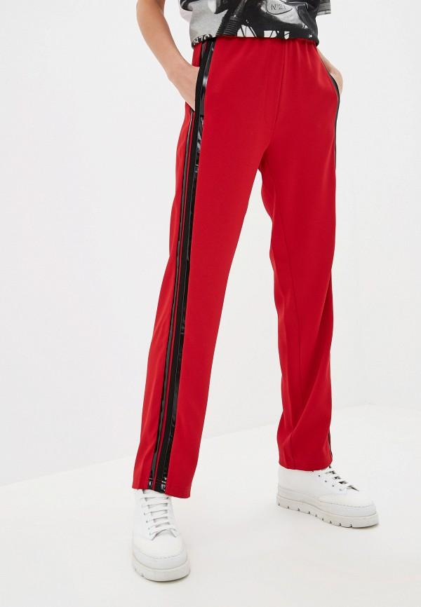 женские брюки n21, красные