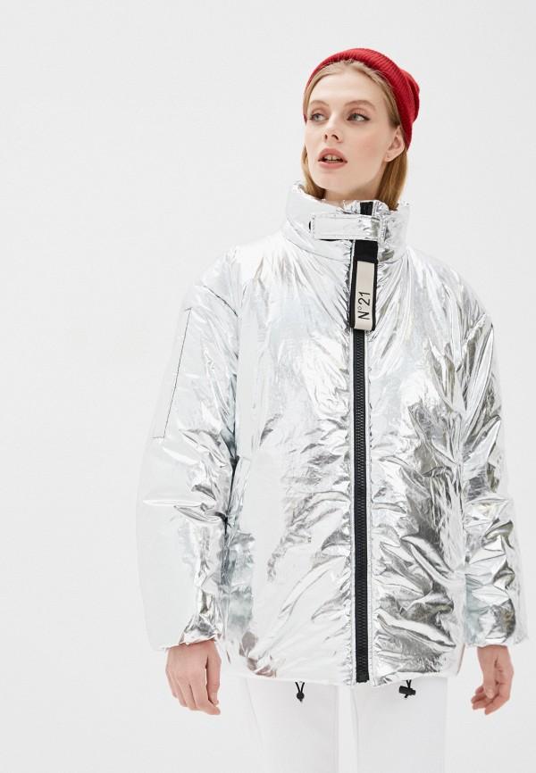 женская куртка n21, серая