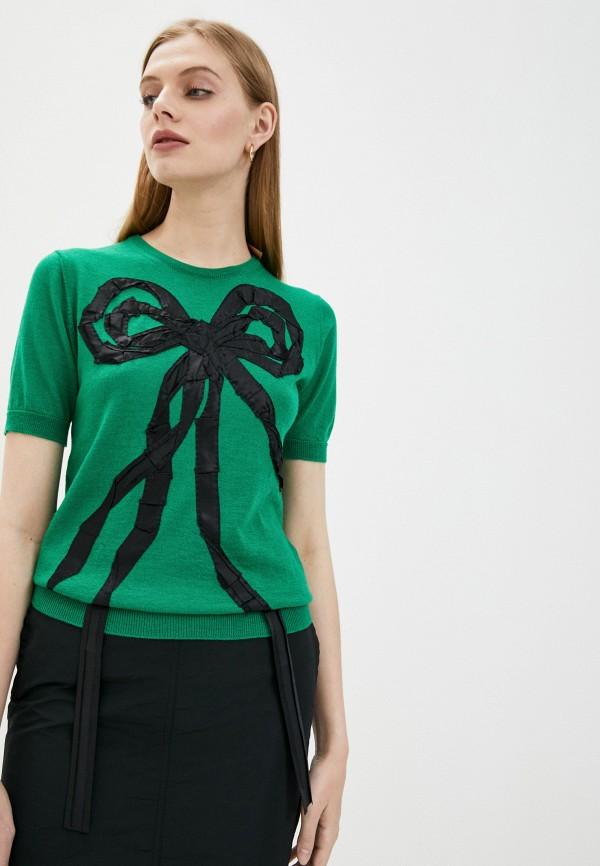 женский джемпер n21, зеленый