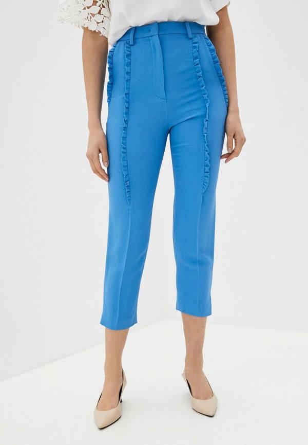 женские повседневные брюки n21, голубые