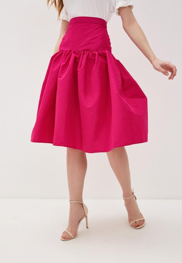 женская юбка n21, розовая