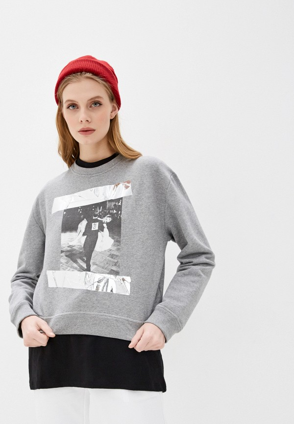 женский свитшот n21, серый