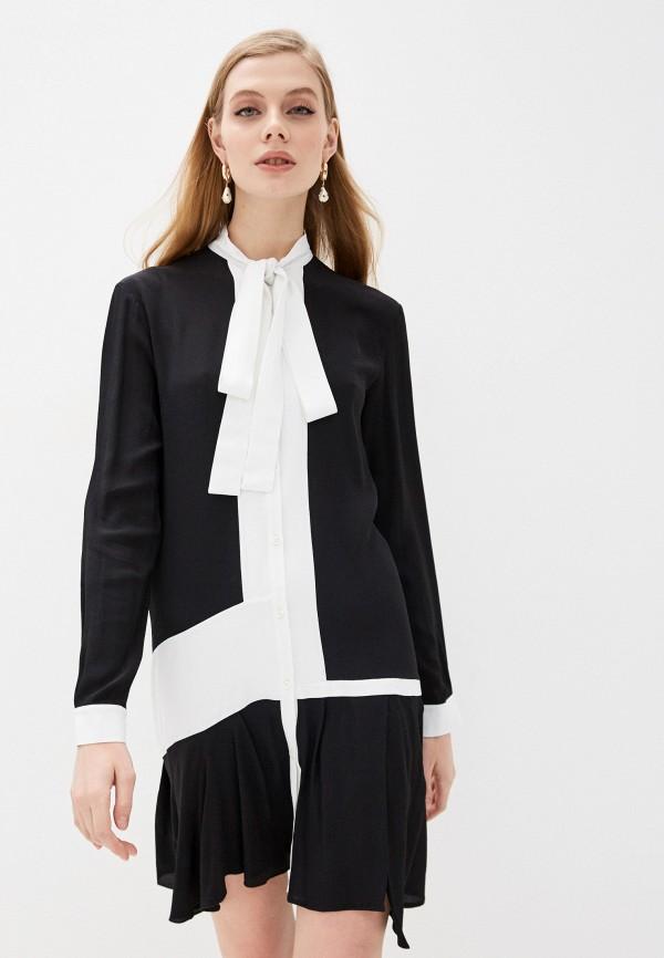 женское платье n21, черное
