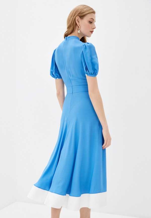 Платье N21, цвет голубой, размер 42 N2MH201. Цена: 39900 р. Коллекция: Весна-лето 2020, Пол: women, Страна-изготовитель: Италия - фото 3