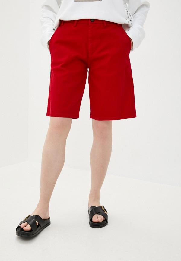 женские повседневные шорты n21, красные