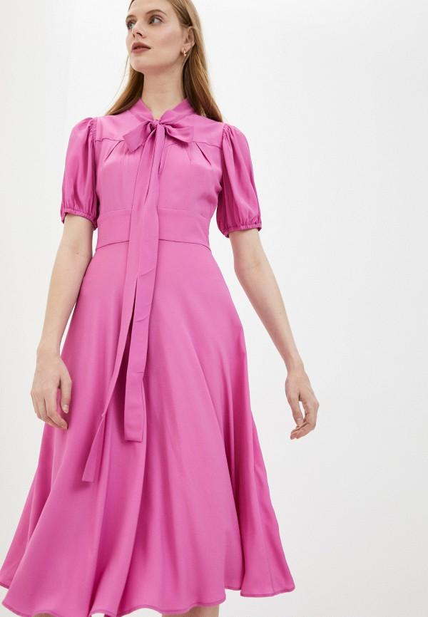 женское повседневные платье n21, розовое