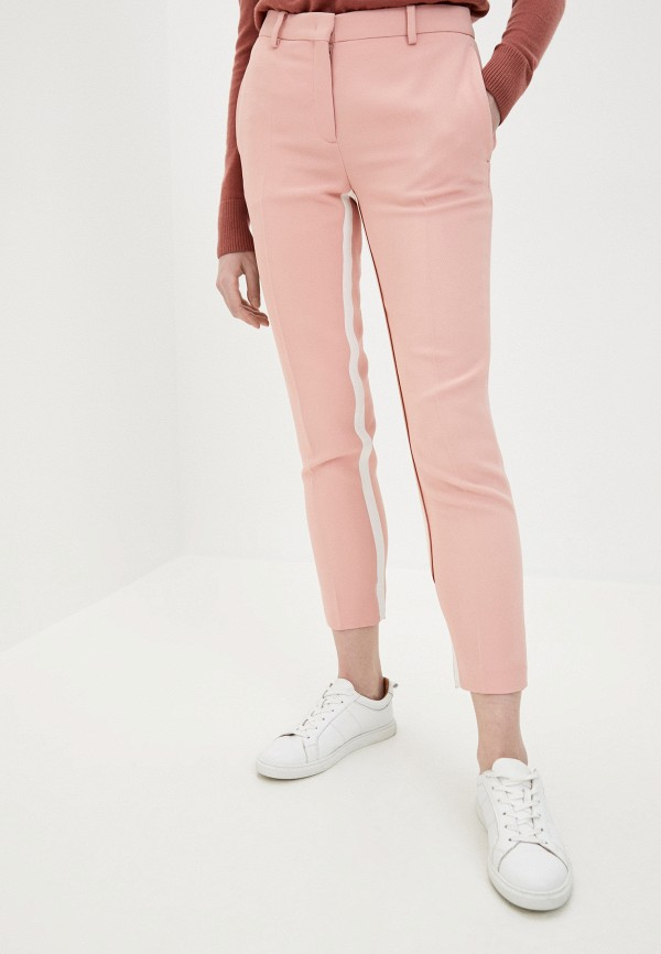 женские повседневные брюки n21, розовые